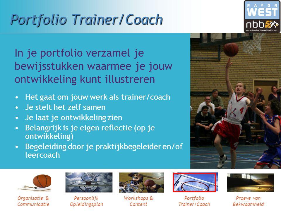 Portfolio Trainer/Coach