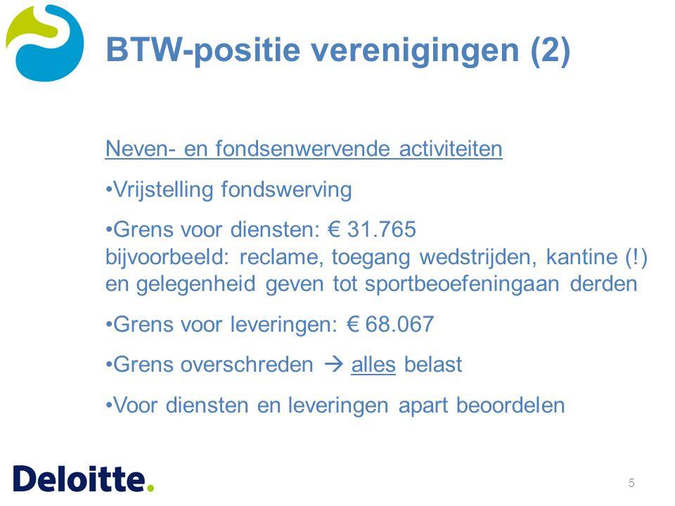 BTW-positie verenigingen (2)