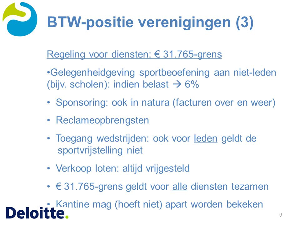 BTW-positie verenigingen (3)