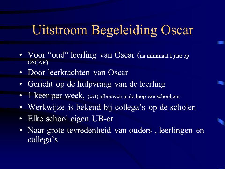 Uitstroom Begeleiding Oscar