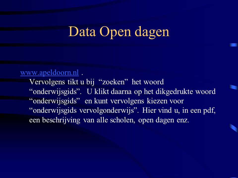 Data Open dagen
