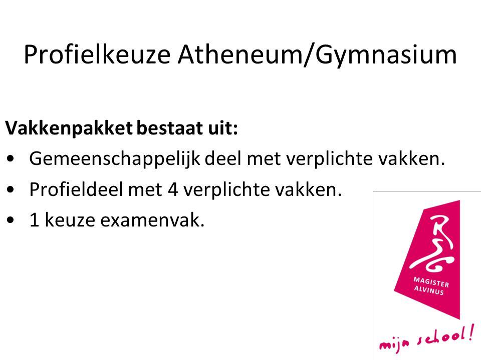 Profielkeuze Atheneum/Gymnasium