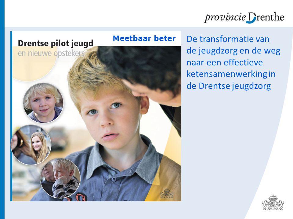 Meetbaar beter De transformatie van de jeugdzorg en de weg naar een effectieve ketensamenwerking in de Drentse jeugdzorg.