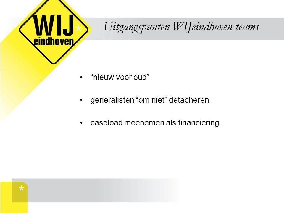 Uitgangspunten WIJeindhoven teams