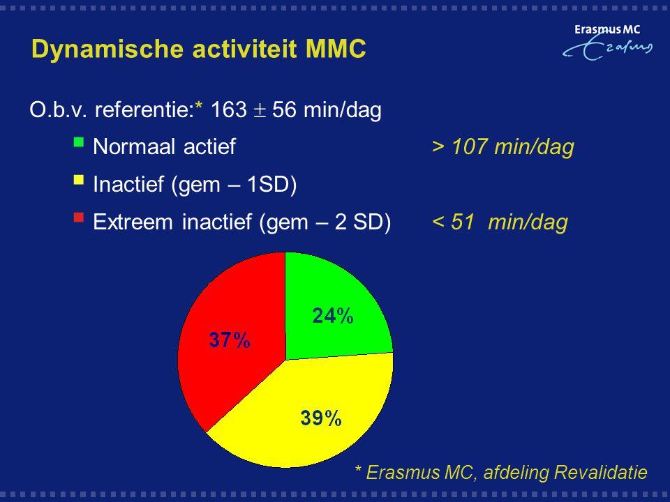 Dynamische activiteit MMC