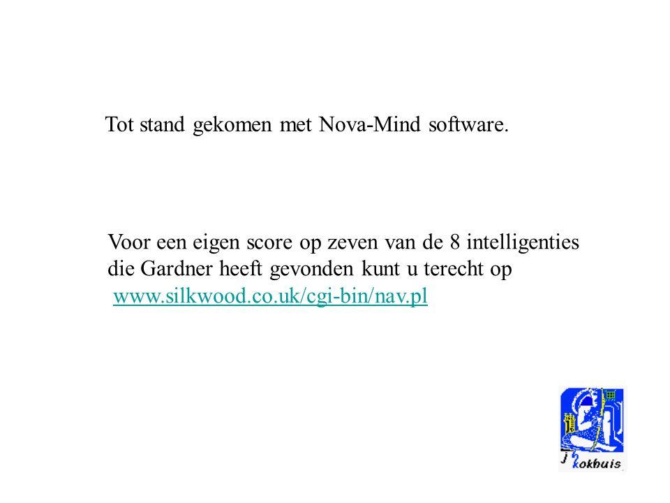 Tot stand gekomen met Nova-Mind software.
