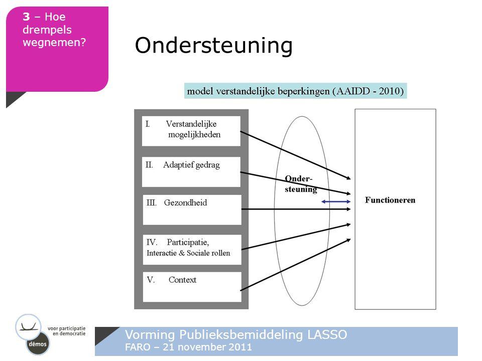 Ondersteuning Vorming Publieksbemiddeling LASSO