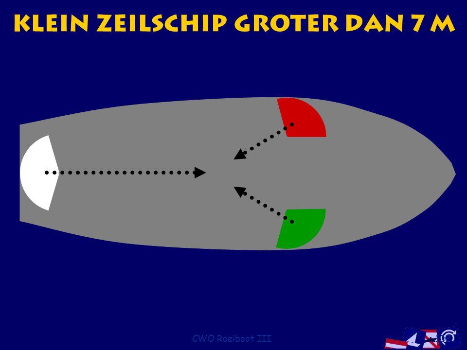 Klein zeilschip groter dan 7 m