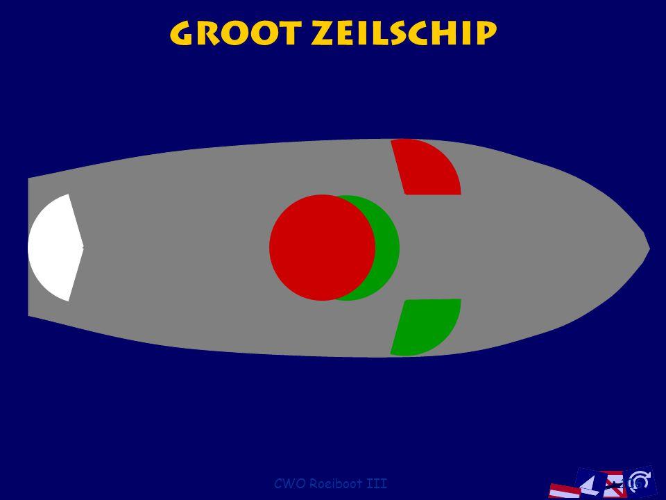 Groot Zeilschip CWO Roeiboot III