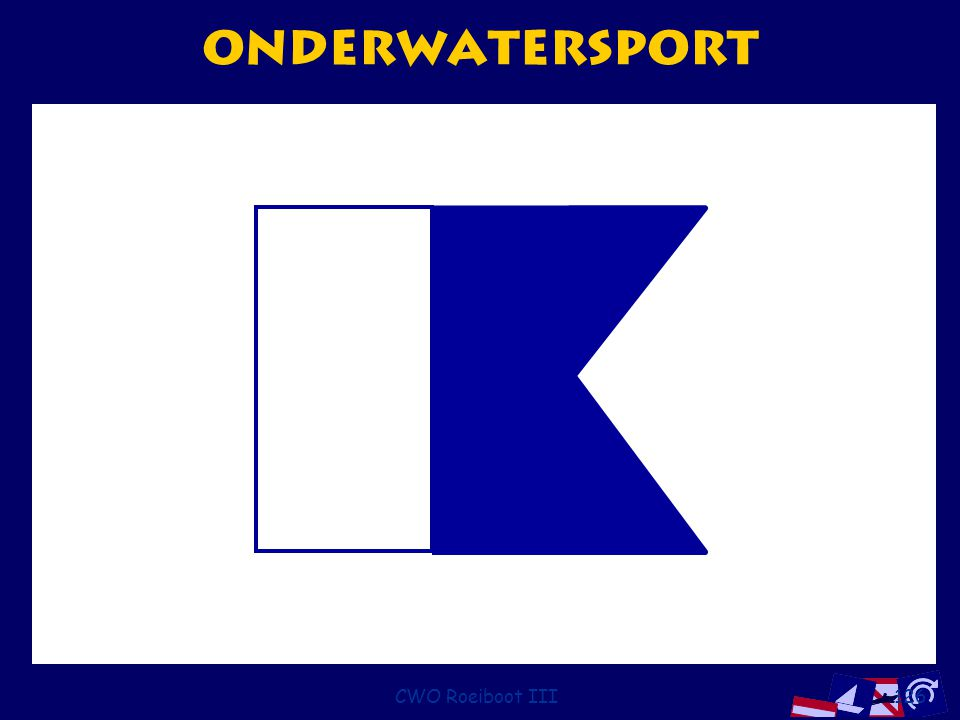 onderwatersport CWO Roeiboot III