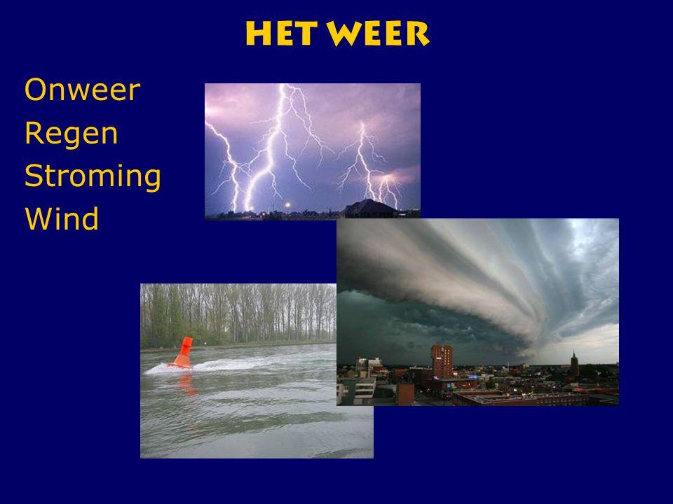 HET Weer Onweer Regen Stroming Wind CWO Roeiboot III