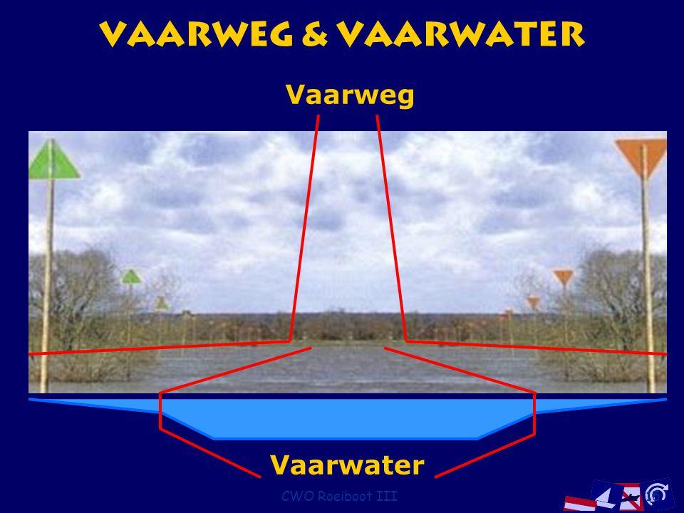 Vaarweg & Vaarwater Vaarweg Vaarwater CWO Roeiboot III