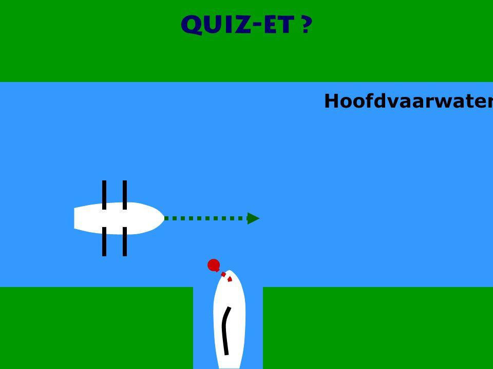 Quiz-et Hoofdvaarwater CWO Roeiboot III