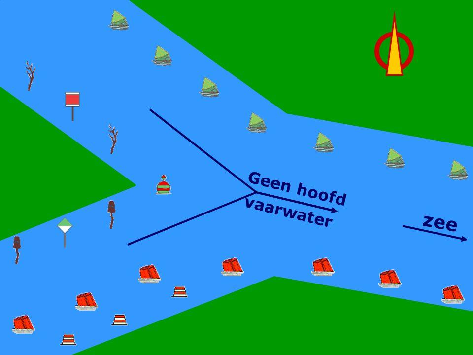 Geen Hoofdwater zee Geen hoofd vaarwater CWO Roeiboot III