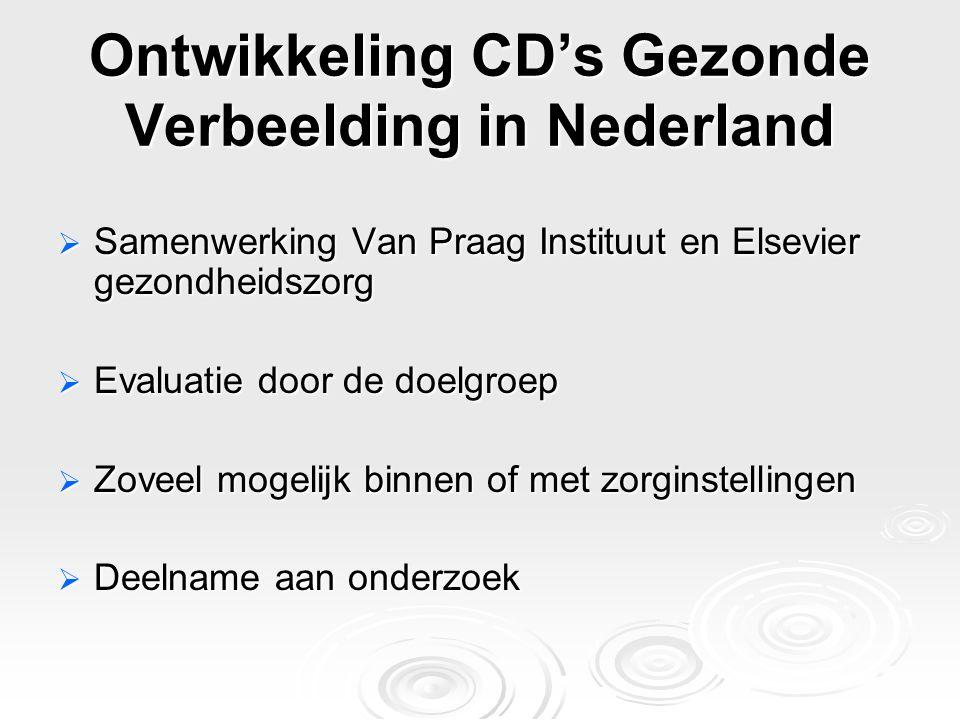Ontwikkeling CD's Gezonde Verbeelding in Nederland