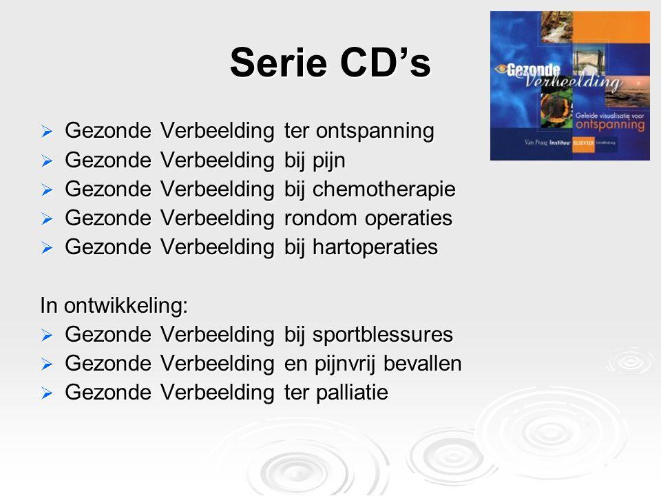 Serie CD's Gezonde Verbeelding ter ontspanning