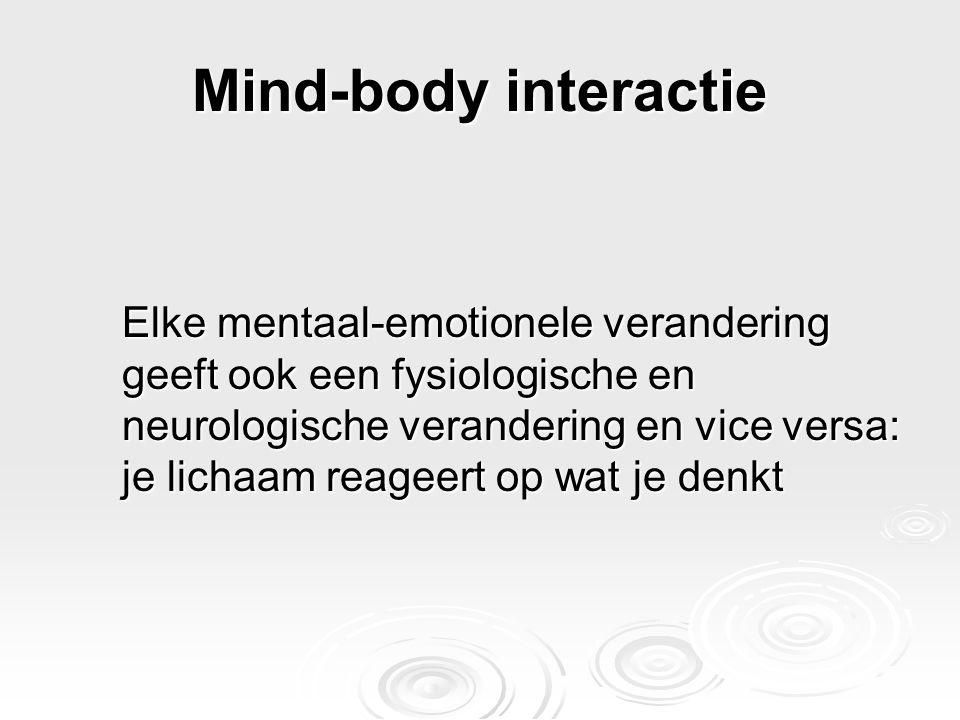 Mind-body interactie