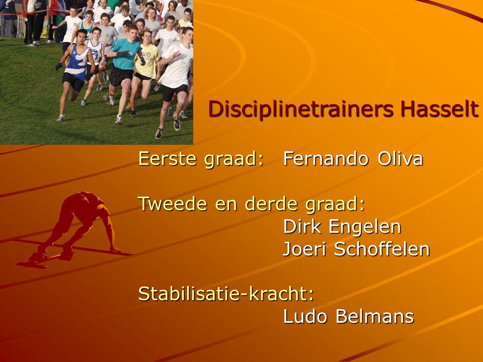 Disciplinetrainers Hasselt