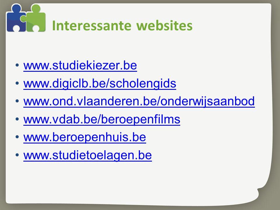 Interessante websites