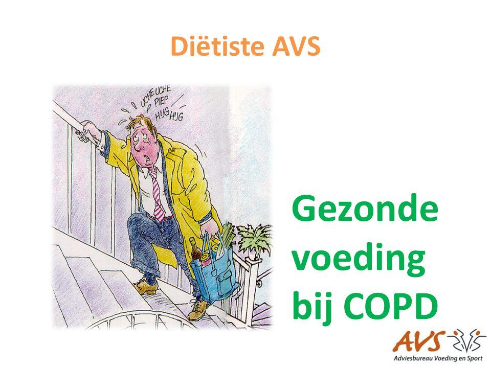 Gezonde voeding bij COPD
