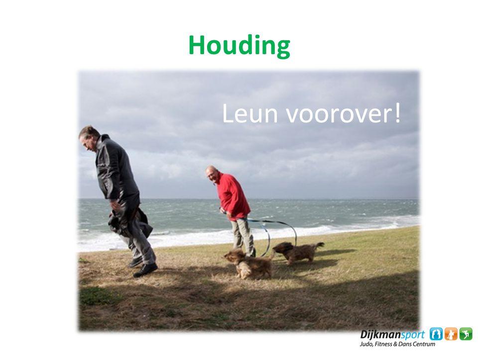 Houding Leun voorover! a. Houding tijdens ademen
