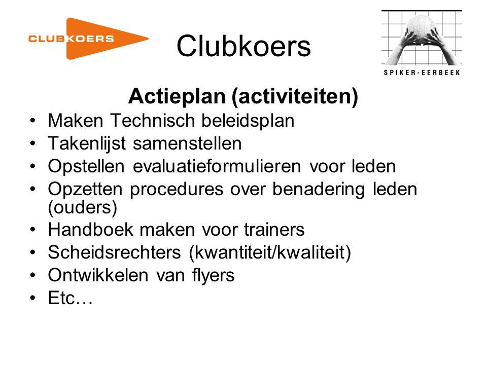 Actieplan (activiteiten)