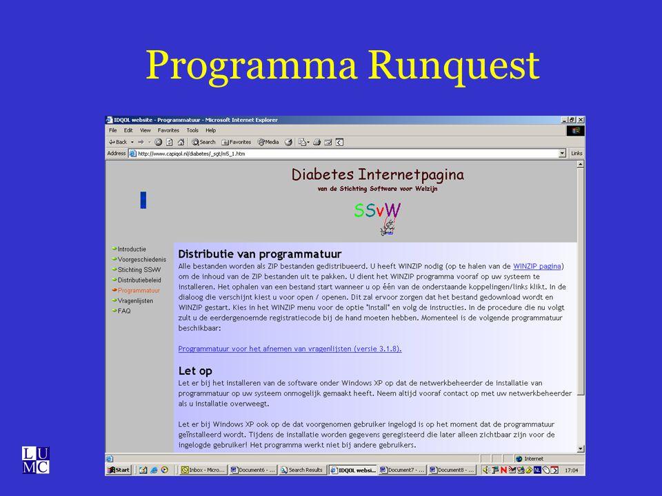 Programma Runquest