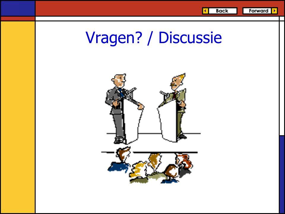 Vragen / Discussie