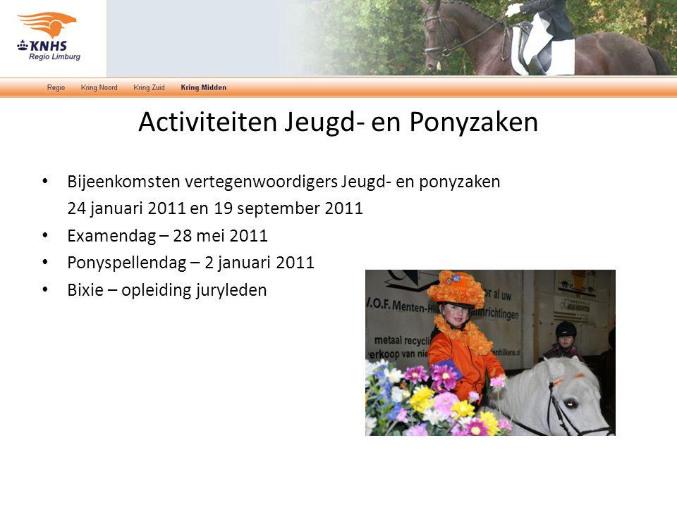 Activiteiten Jeugd- en Ponyzaken