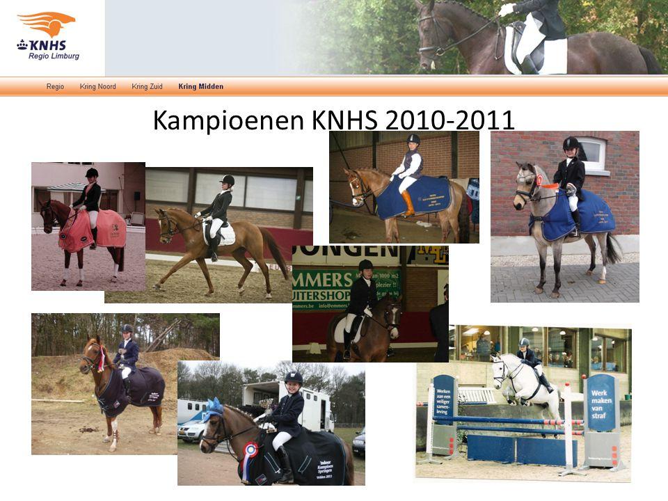 Kampioenen KNHS 2010-2011
