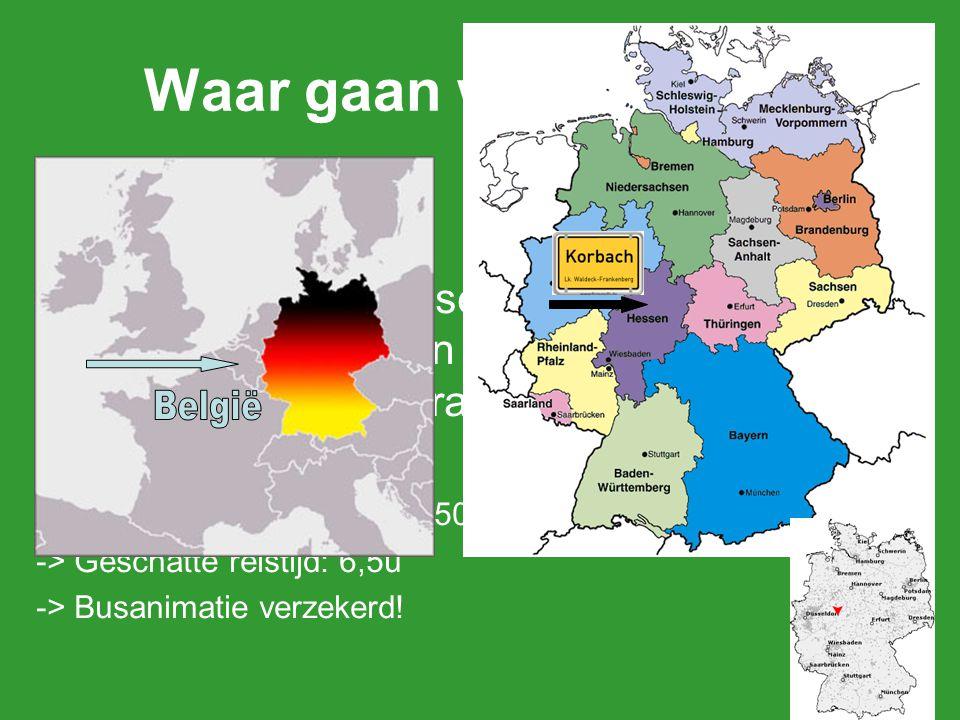 Waar gaan we naar toe Korbach België