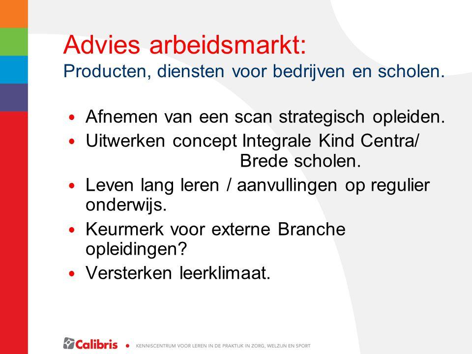 Advies arbeidsmarkt: Producten, diensten voor bedrijven en scholen.