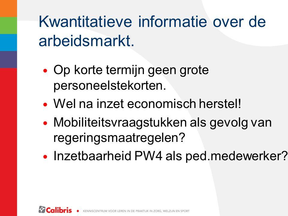 Kwantitatieve informatie over de arbeidsmarkt.