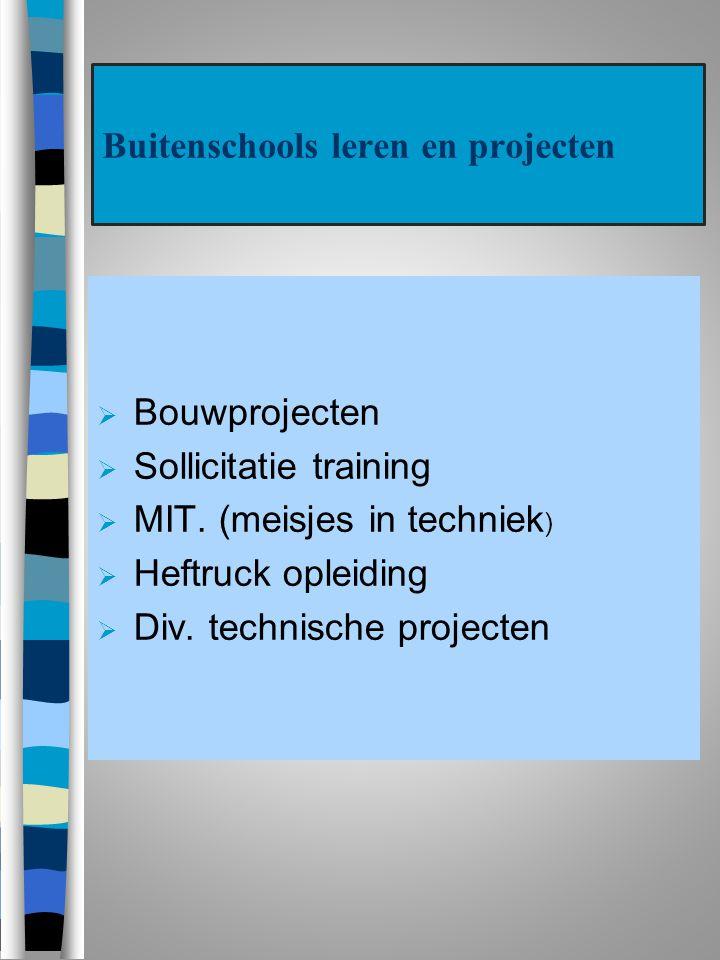 Buitenschools leren en projecten