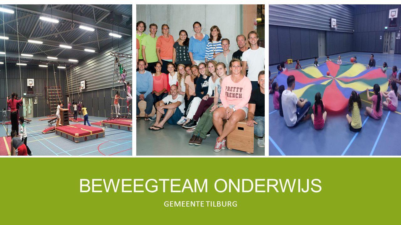 Beweegteam onderwijs Gemeente Tilburg