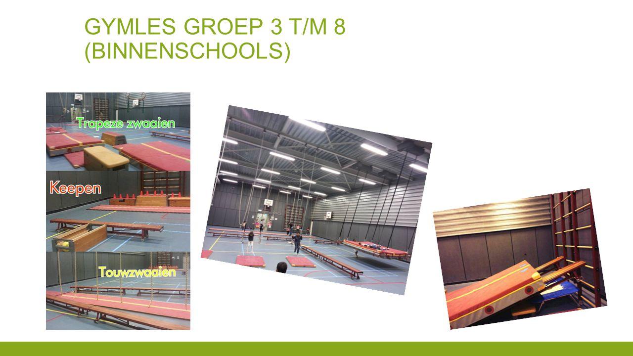 Gymles groep 3 t/m 8 (binnenschools)