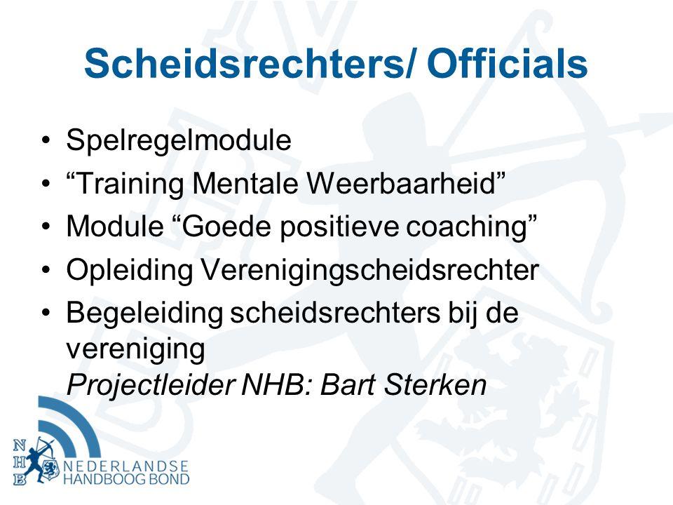 Scheidsrechters/ Officials