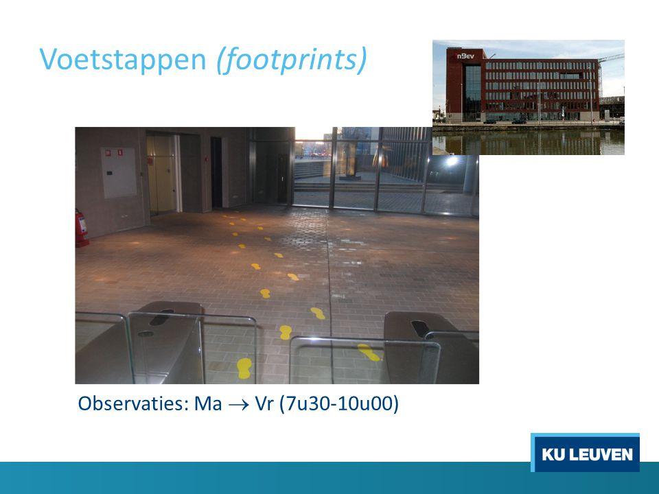 Voetstappen (footprints)