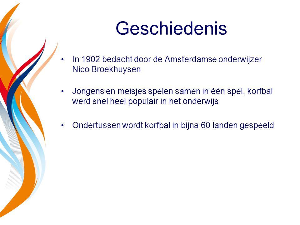Geschiedenis In 1902 bedacht door de Amsterdamse onderwijzer Nico Broekhuysen.