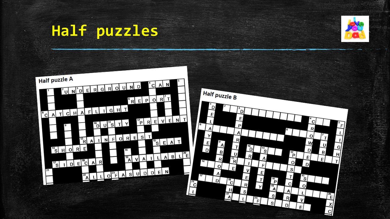 Half puzzles