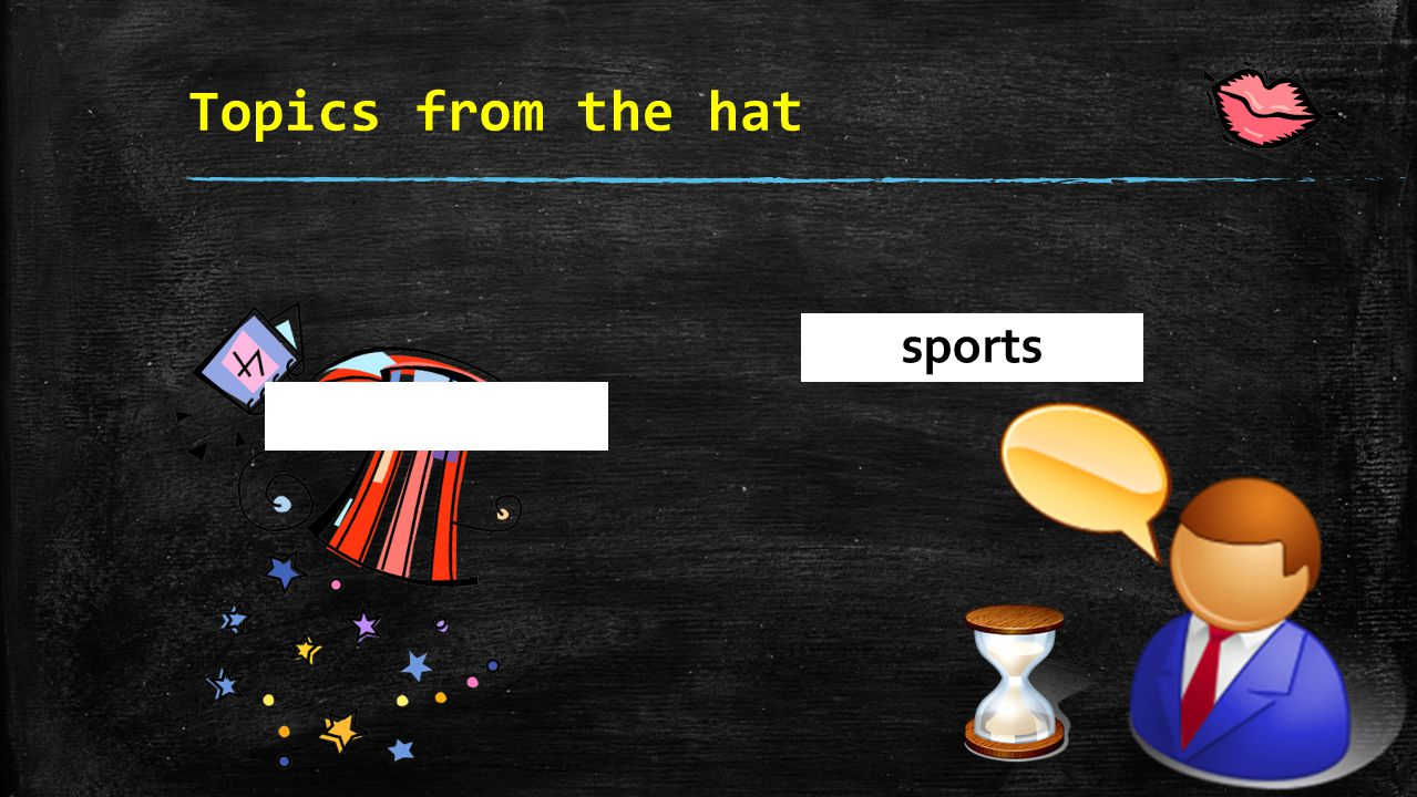 Topics from the hat sports