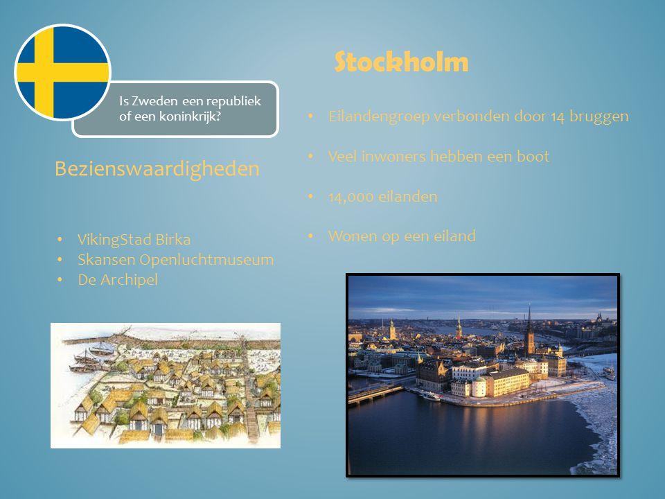 Stockholm Bezienswaardigheden Eilandengroep verbonden door 14 bruggen