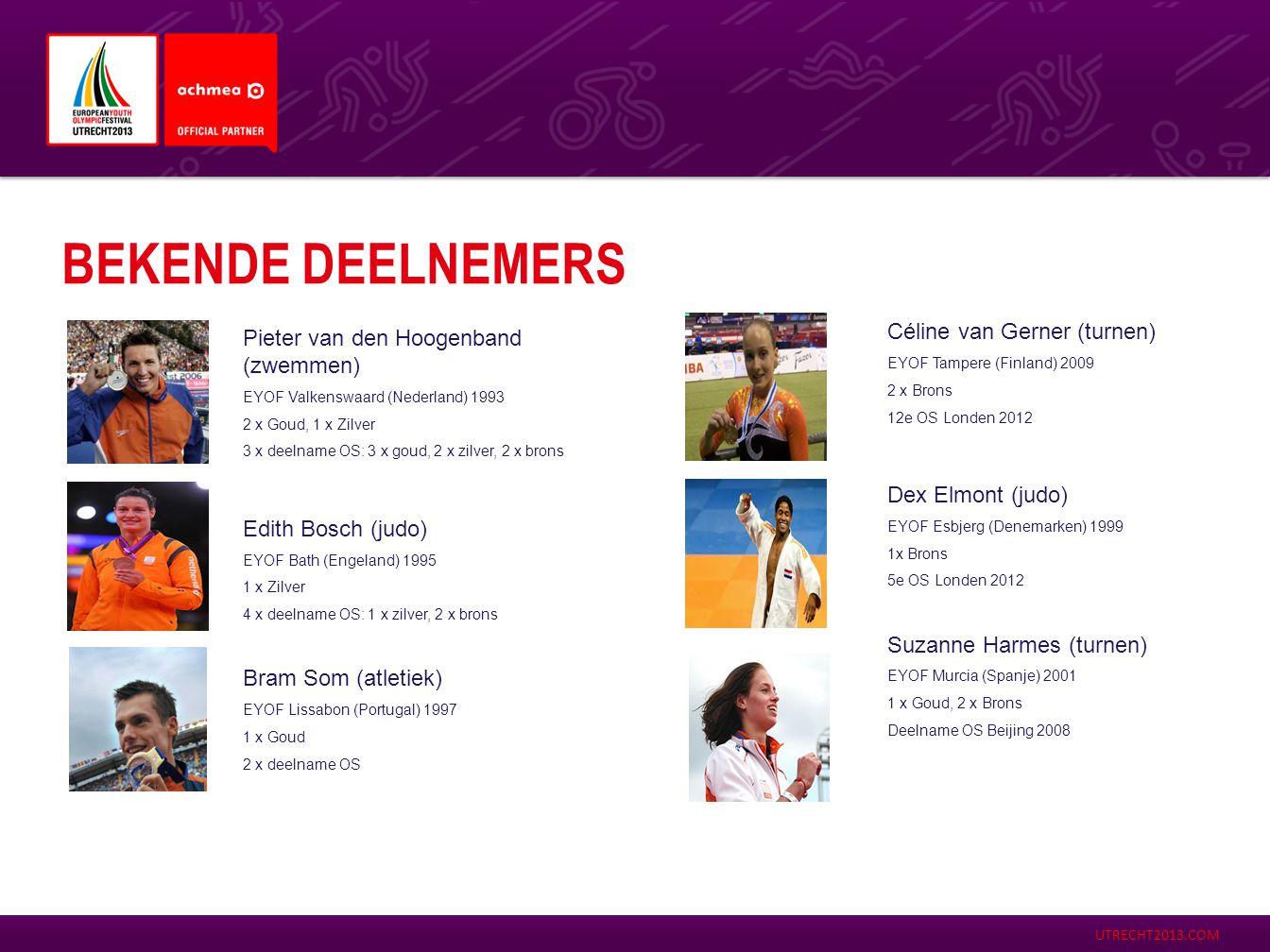BEKENDE DEELNEMERS Céline van Gerner (turnen)