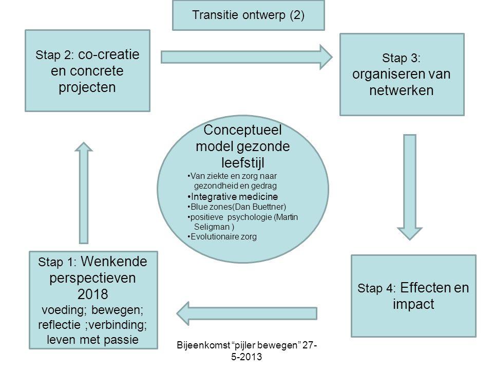 Conceptueel model gezonde leefstijl