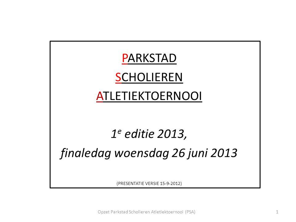 finaledag woensdag 26 juni 2013