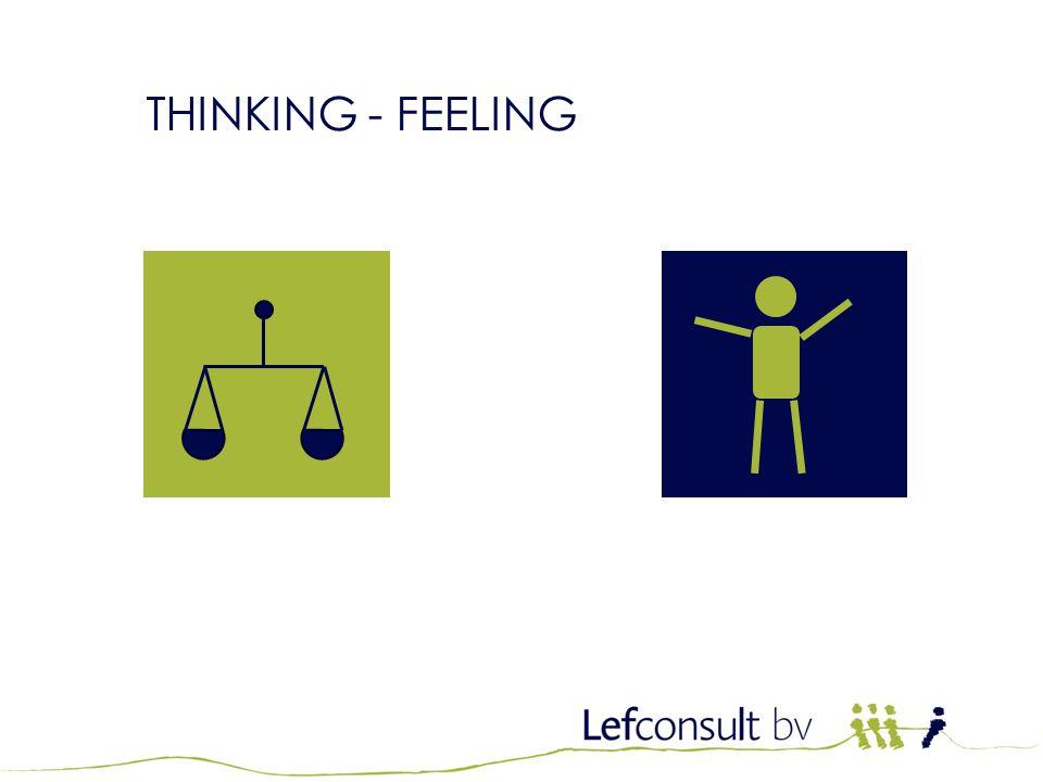 THINKING - FEELING