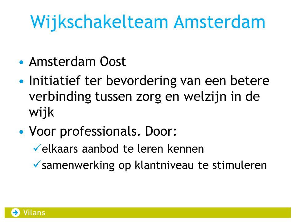 Wijkschakelteam Amsterdam