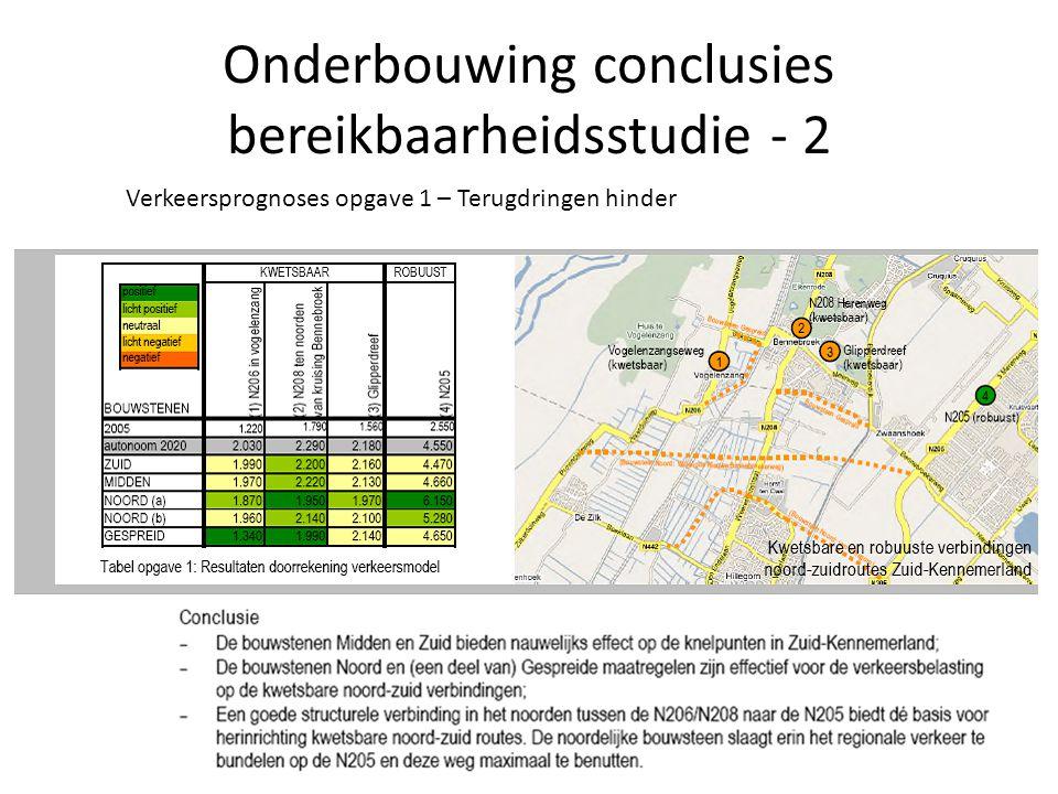 Onderbouwing conclusies bereikbaarheidsstudie - 2