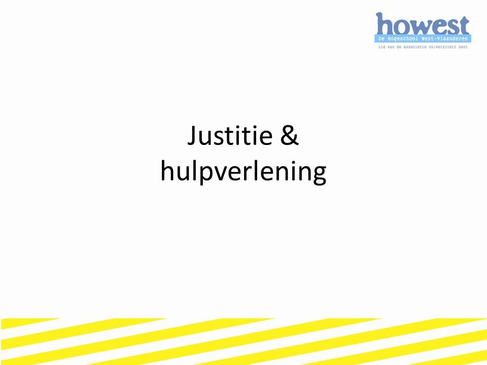 Justitie & hulpverlening