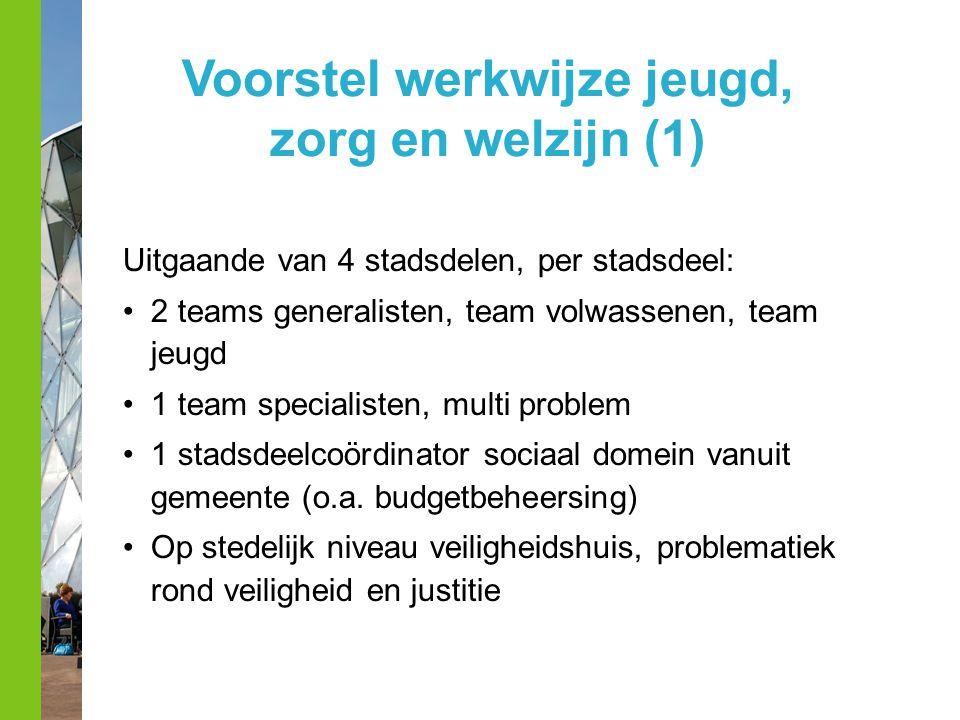 Voorstel werkwijze jeugd, zorg en welzijn (1)